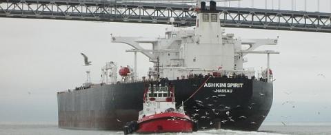 In-bound Oil Tanker- SF