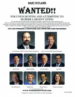Color Wanted Poster