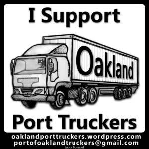 Support Oakland Truckers
