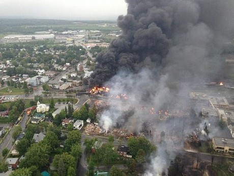 2013 Lac-Mégantic, Quebec Disaster: A Solo-Crewed Runaway Train Killed 47